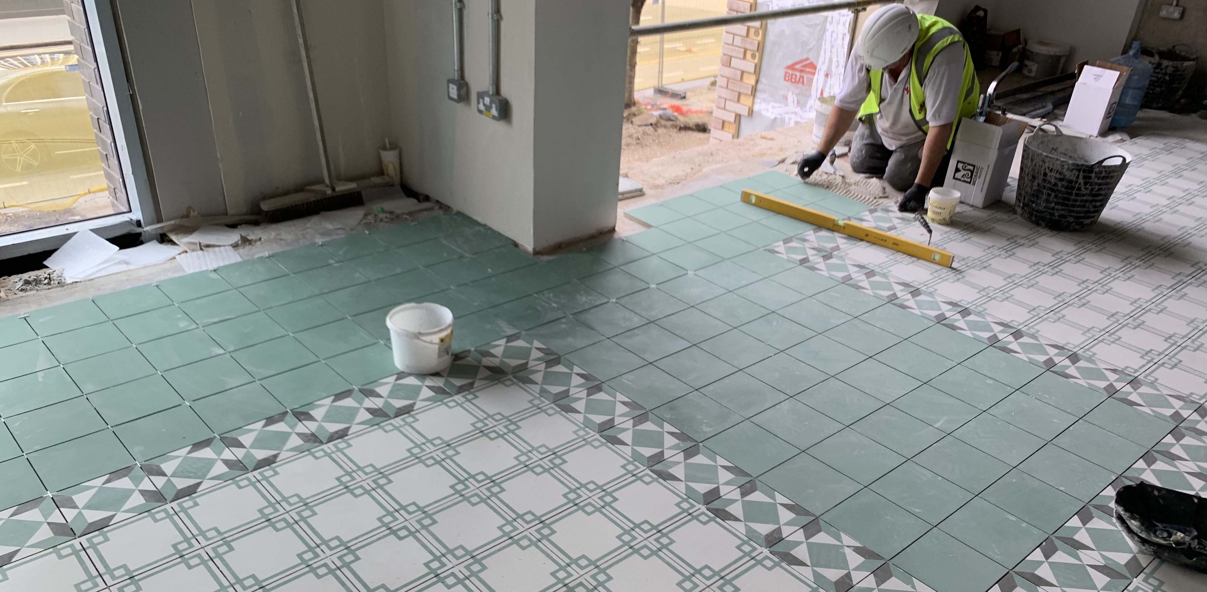 commercial tiling contractor London