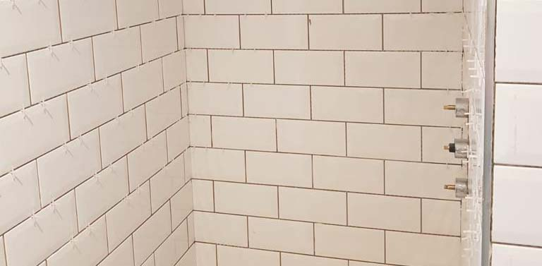 shower tiling London